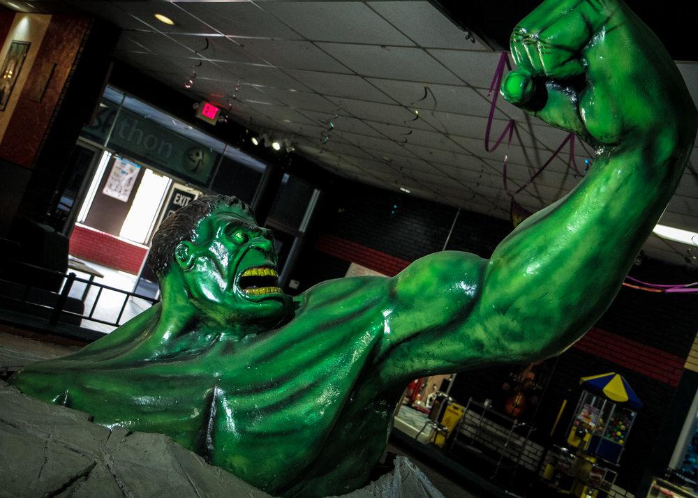 Custom Sculpted Lifesize Hulk