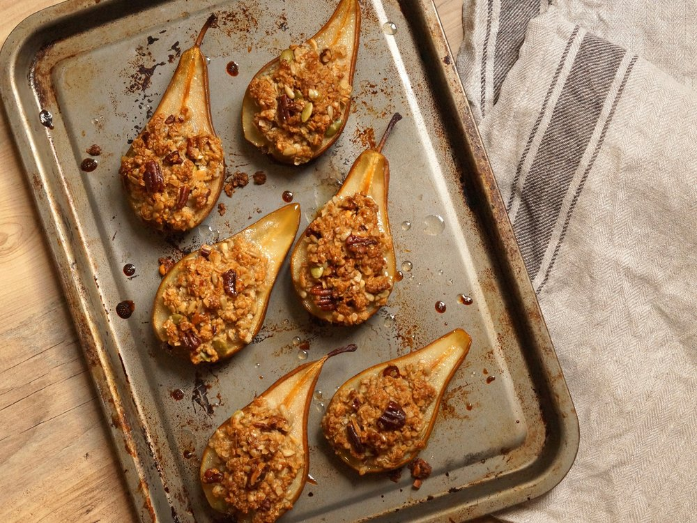 granola and maple stuffed pears1.jpg