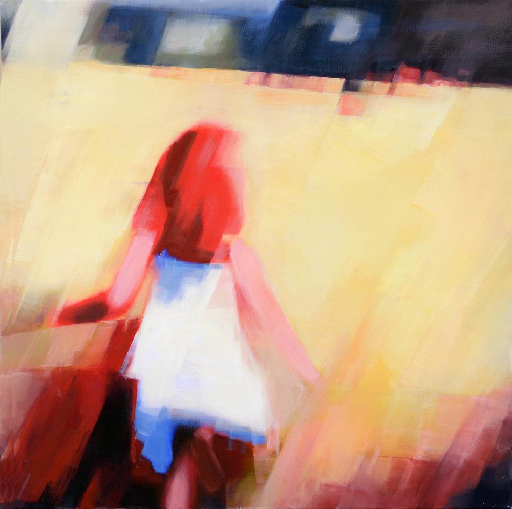 Summerwind,   80 x 80 cm,  Acryl/Leinwand,  2017