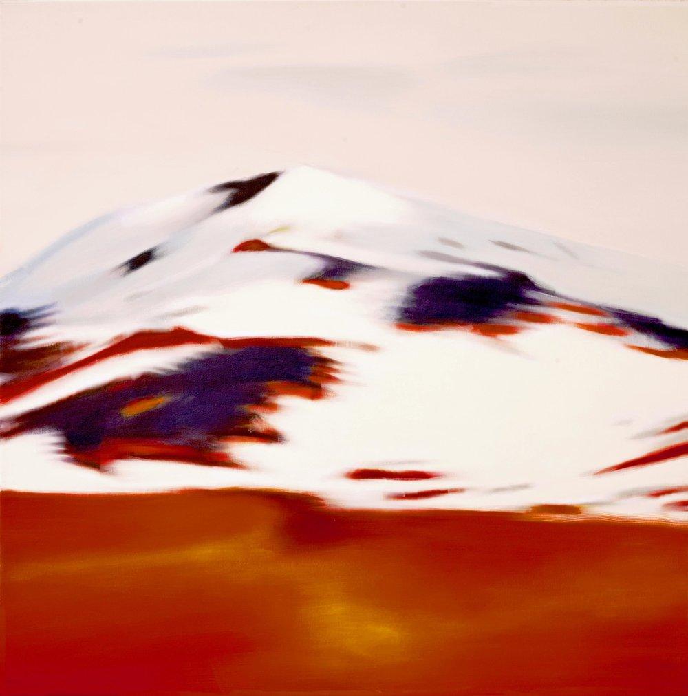 holy mountain,   95 x 95 cm,  2017