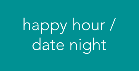 Drop-off your little ones for 2.5 hours to enjoy happy hour or a date night on your own   |  $25 / child -Choose a 2.5-hour time window between 4:00pm and 8:00pm -Parents must be available to return within 15 minutes (we do not change diapers or provide medical attention but will be happy to get in touch if someone needs attention) -Pack snacks, an extra change of clothes, and anything that makes your little one feel more comfortable away from home