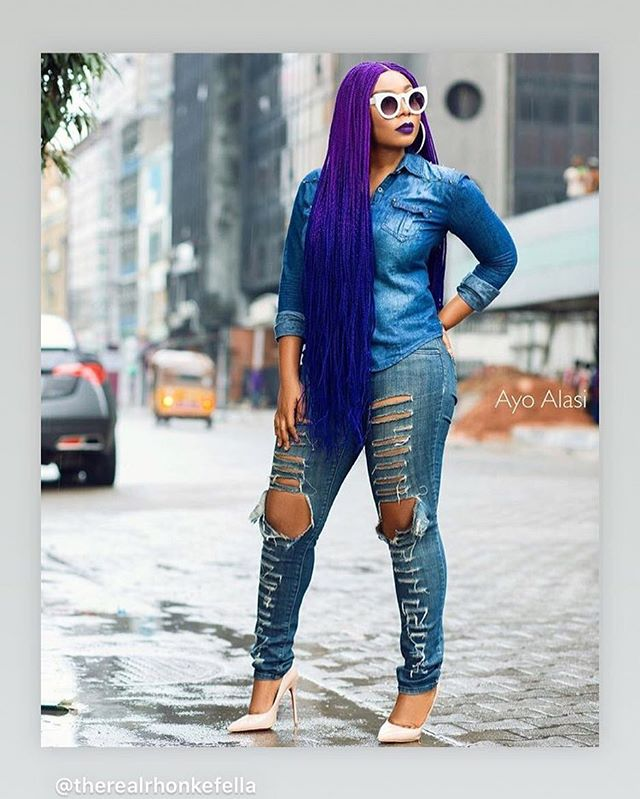 Hair style watch - @therealrhonkefella is today's beautiful unicorn. We ❤️. We have the largest stock of colourful hair extensions for braids now available ONLINE www.twilighthues.com Get inspired by our curation of cool hairstyles from around the globe. @unicornlocksclub is curated by @twilighthuesbeauty a colourful hair extension brand based in Nigeria.  Be inspired Also available at Invivo Hair and Beauty Ceddi Plaza Abuja ❤🔥🦄😊🌈 #hairstyles #hairinspiration #protectivestyling #unicorn #rainbowhair  #ombrehair #hairculture #braids #abuja #lagos #nigeria