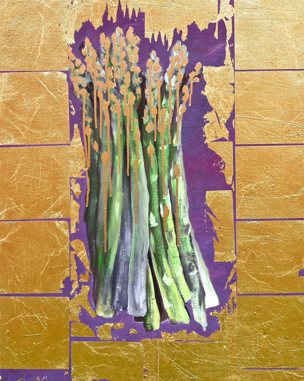 True Value I Asparagus in Gold