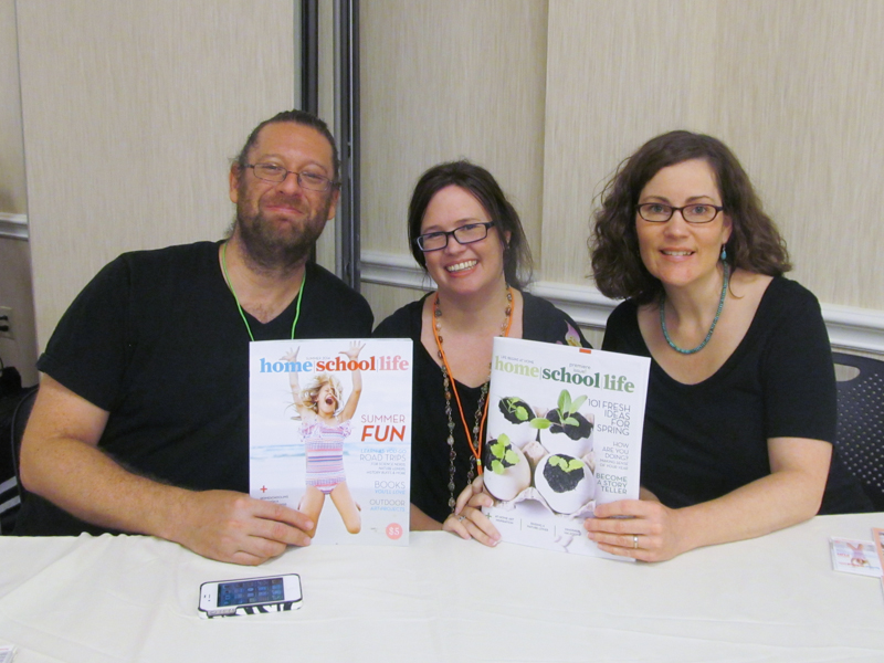 The home | school | life team at the first National Alliance for Secular Homeschoolers conference