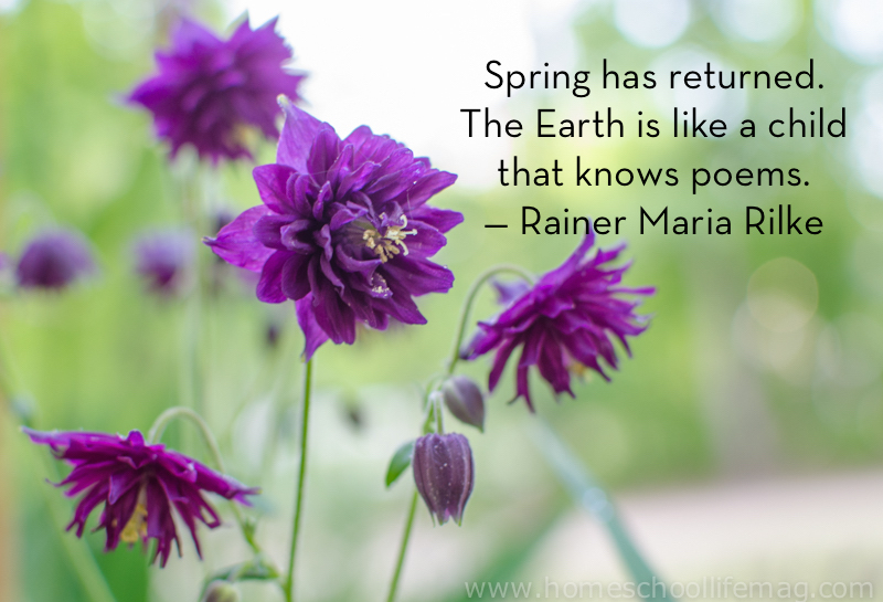 Spring has returned quote