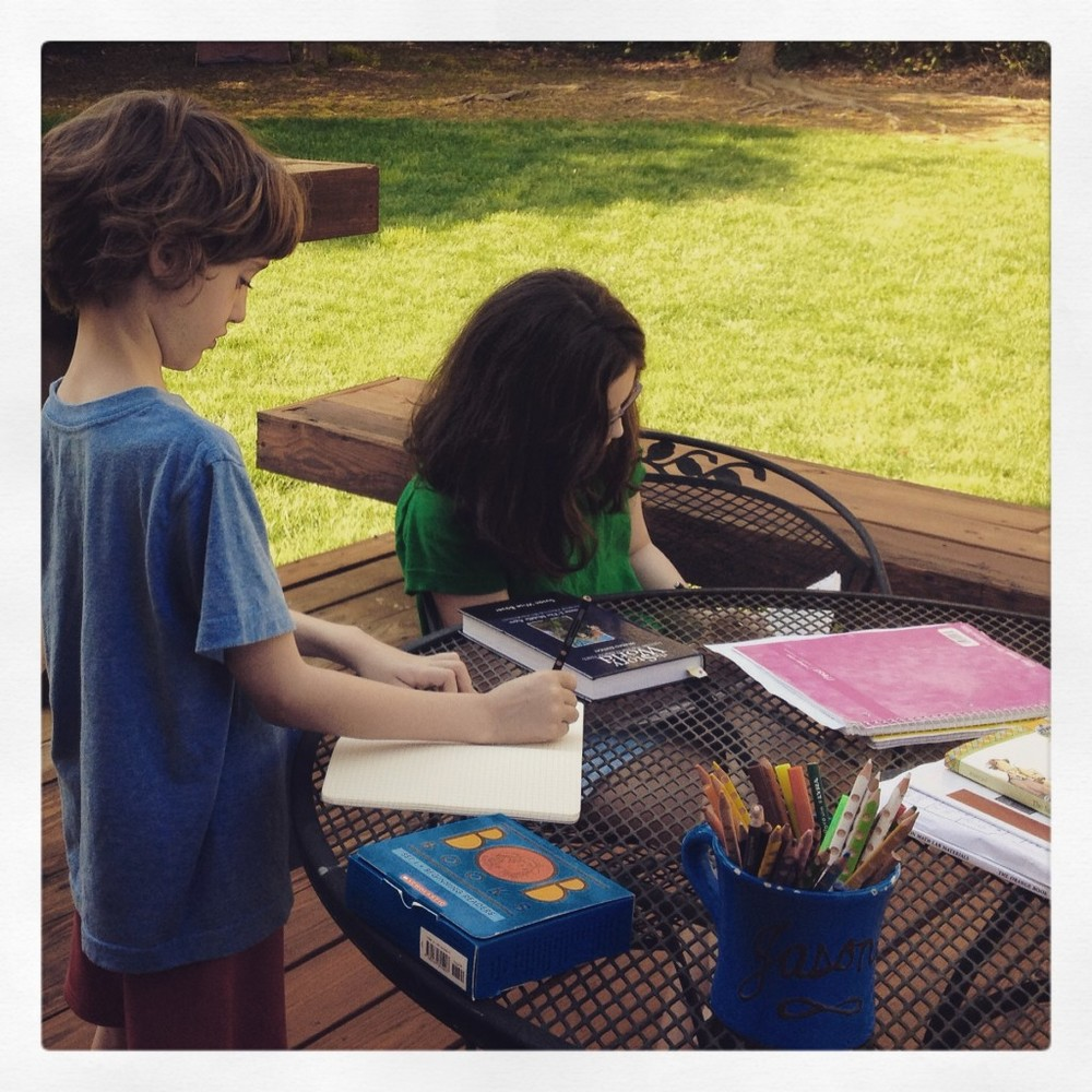 At Home with the Editors: Inside Amy's 1st grade