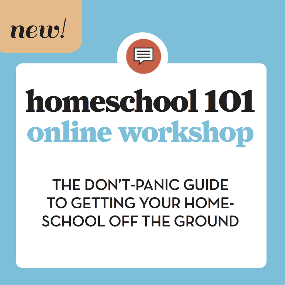 Awesome online workshop for new homeschoolers. Great info for getting started, thriving, and figuring out the whole homeschool thing, tackles lots of homeschool FAQ. #homeschool