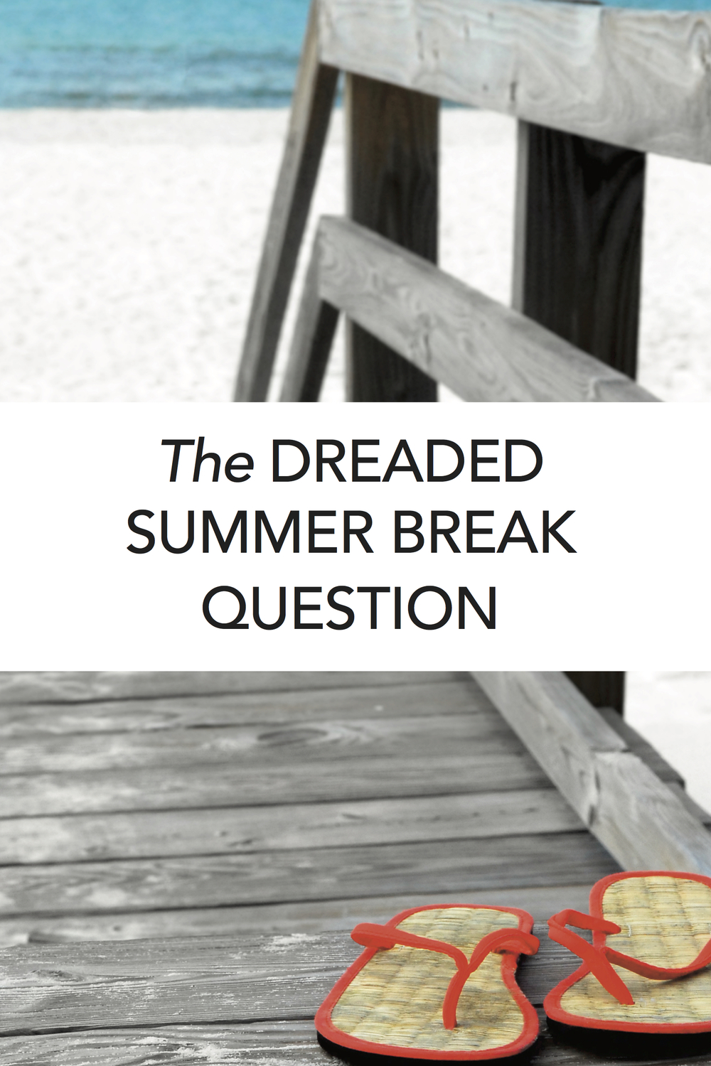 Love this! Great read about summer break for homeschoolers. #homeschool