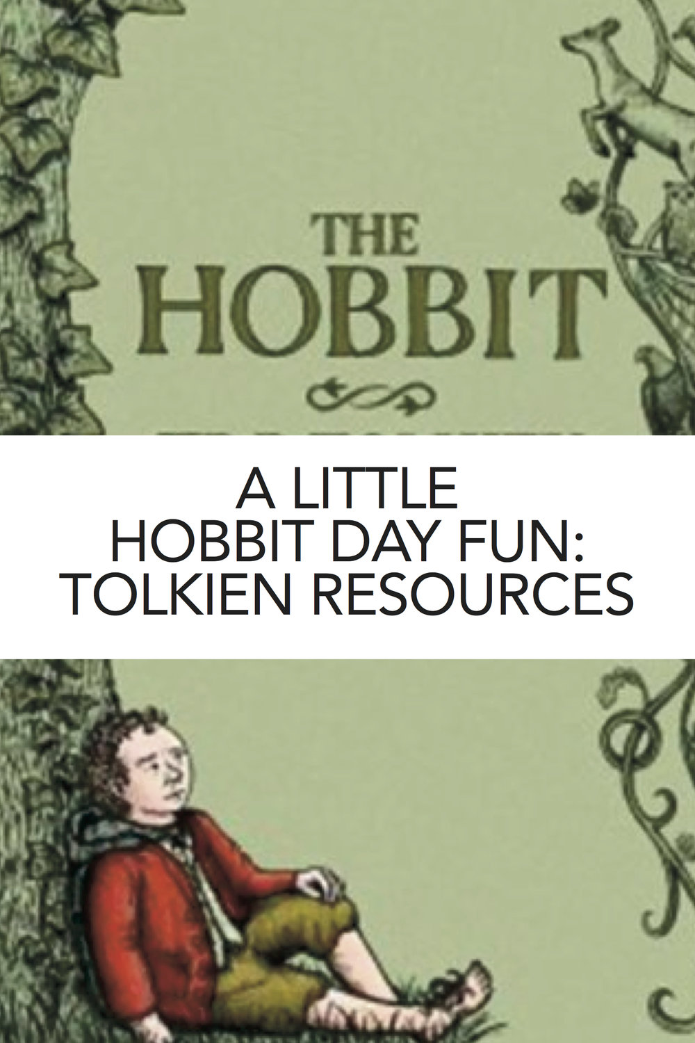 Great roundup of resources and activities for studying The Hobbit