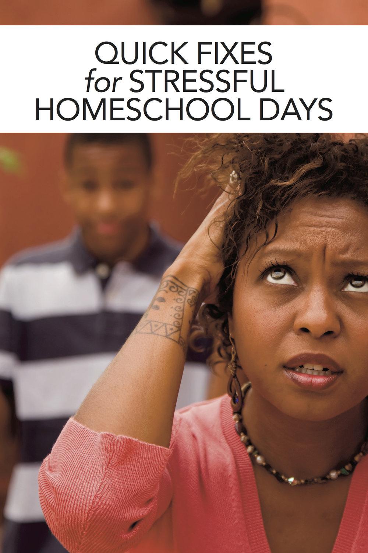 Homeschool Q&A: Quick Fixes for Homeschool Stress