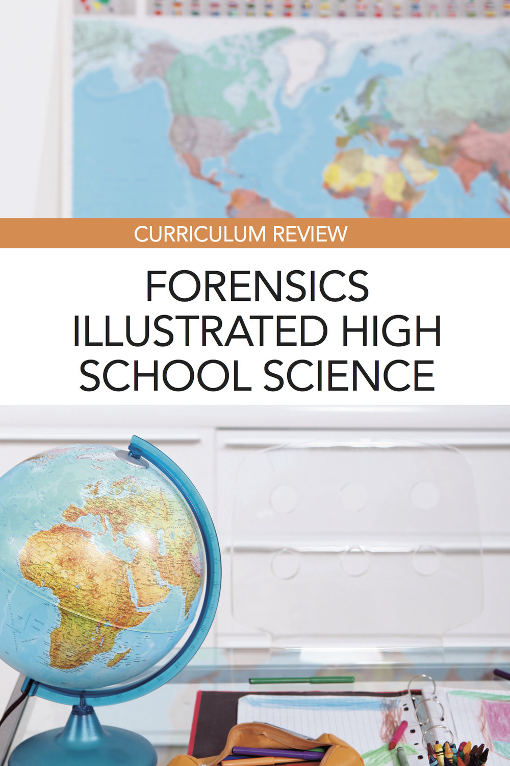 Forensics Illustrated high school science curriculum for homeschoolers