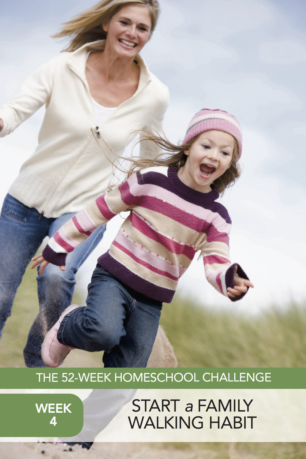 52 Weeks of Happier Homeschooling Week 4: Start a Family Walking Habit