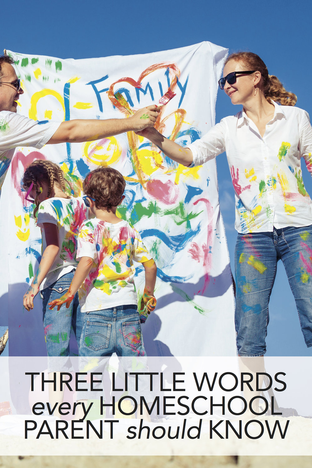3 words every homeschool parent should know