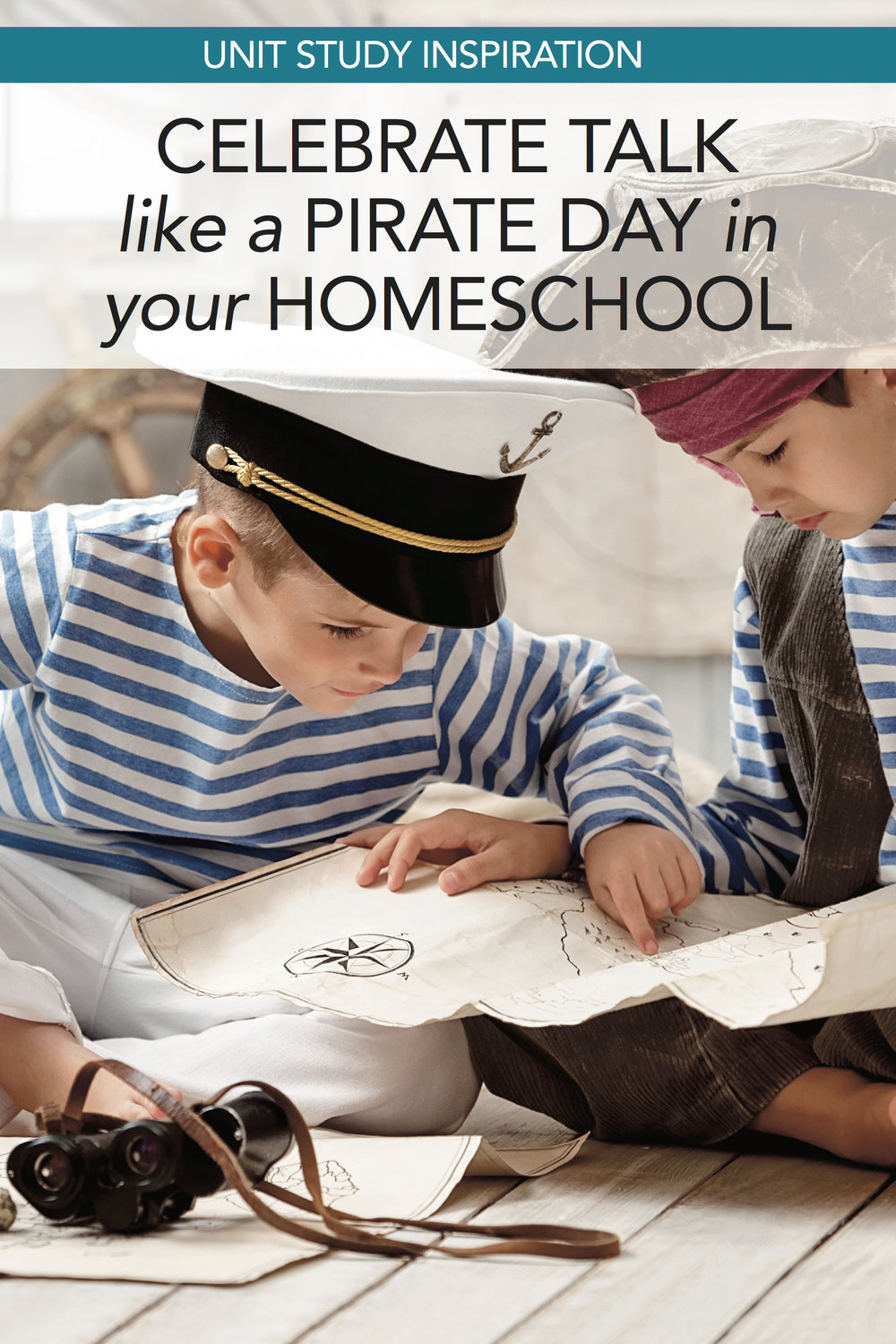 Fun ideas for movies, books, etc for a pirates unit study. #homeschool