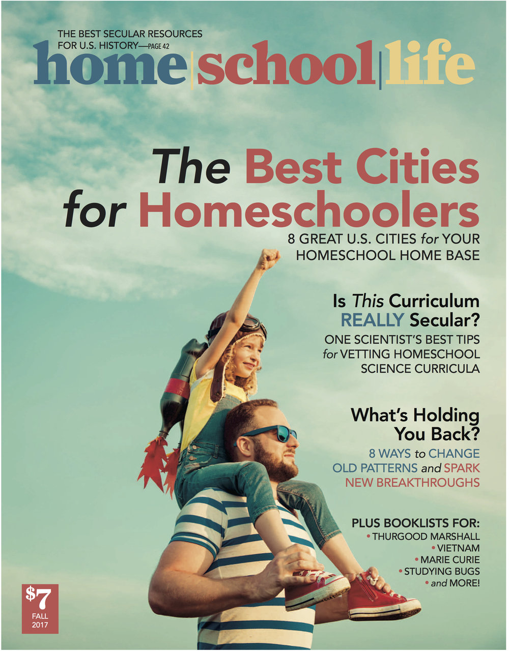home/school/life is the secular homeschool magazine for families who learn together