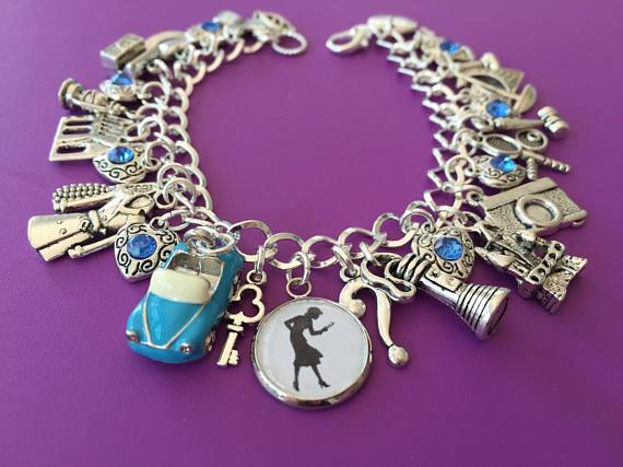 Nancy Drew Charm Bracelet