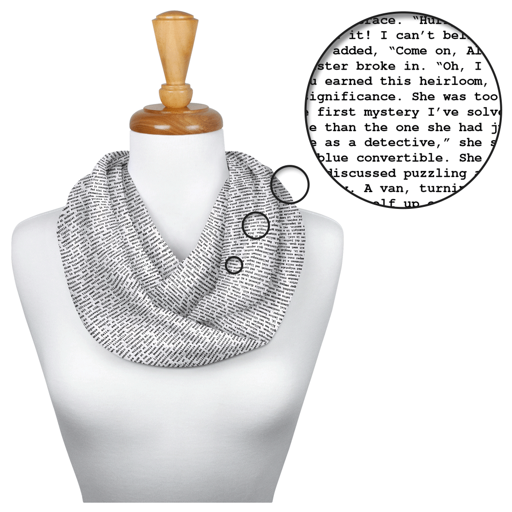 Nancy Drew scarf