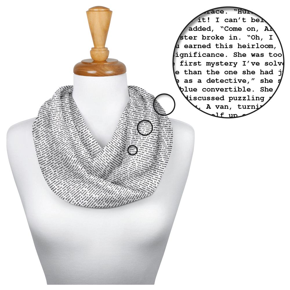 Nancy Drew scarf