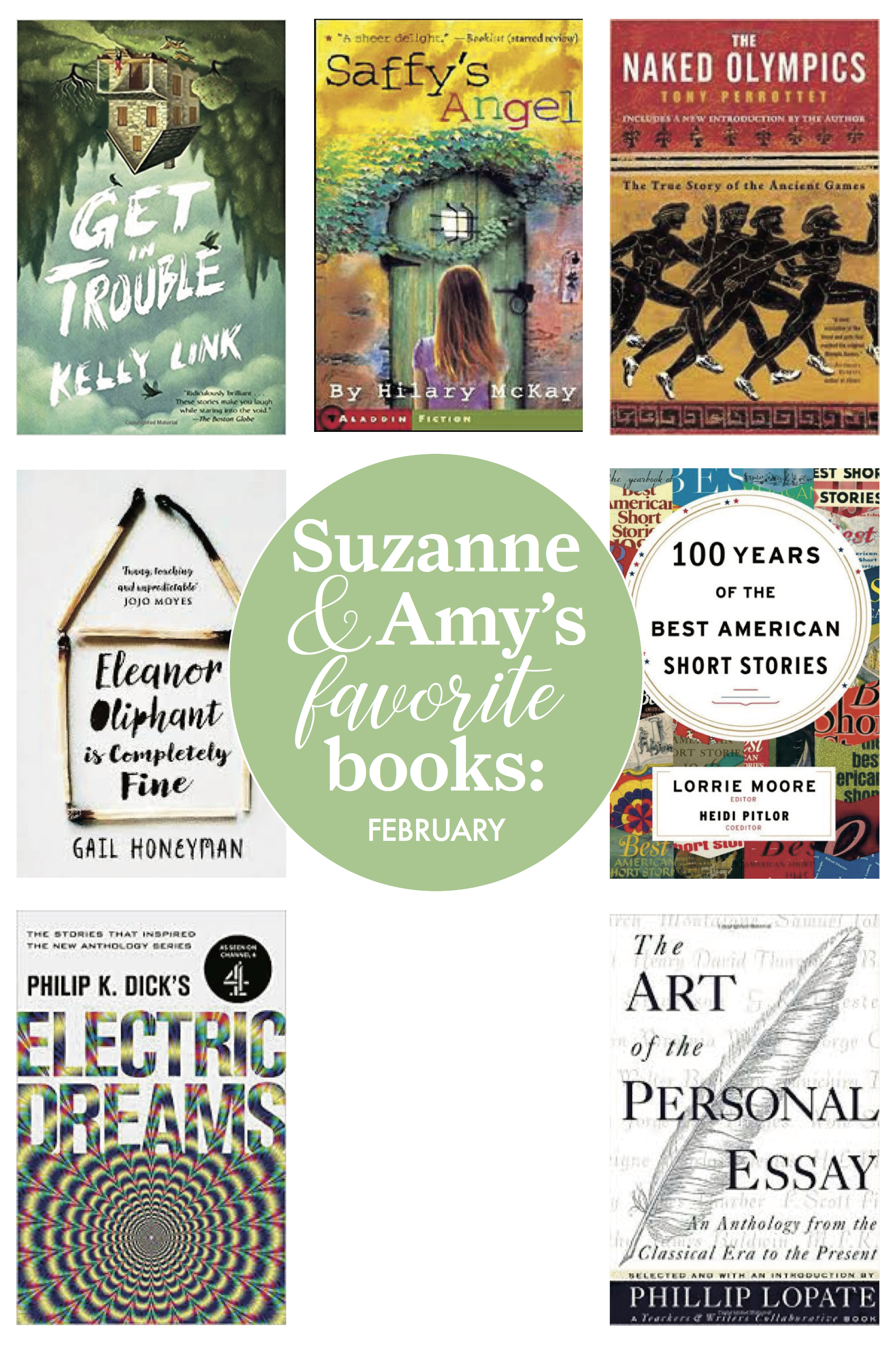 Library Chicken :: Suzanne and Amy's Favorite Reads in February