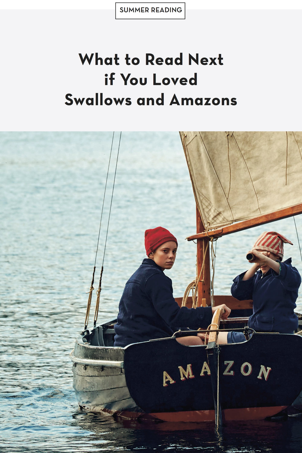What to read next if you loved Swallows and Amazons