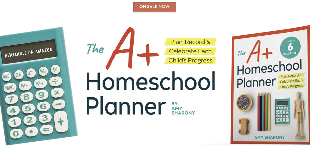 Amy's secular homeschool planner is on sale now!