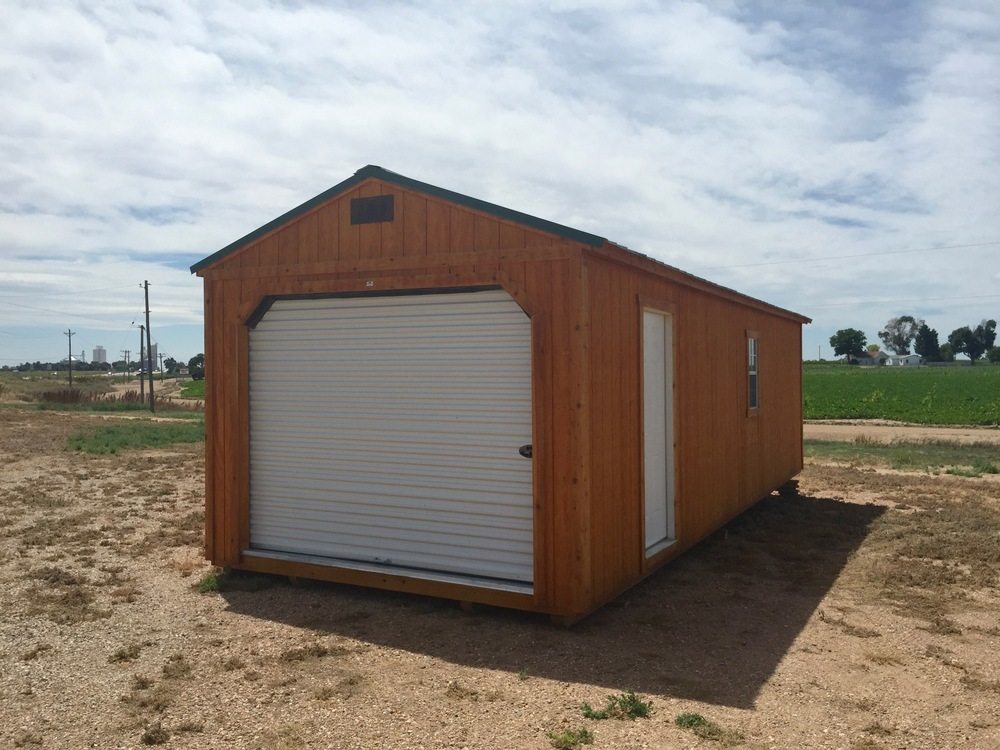 Efficient Garage Shed