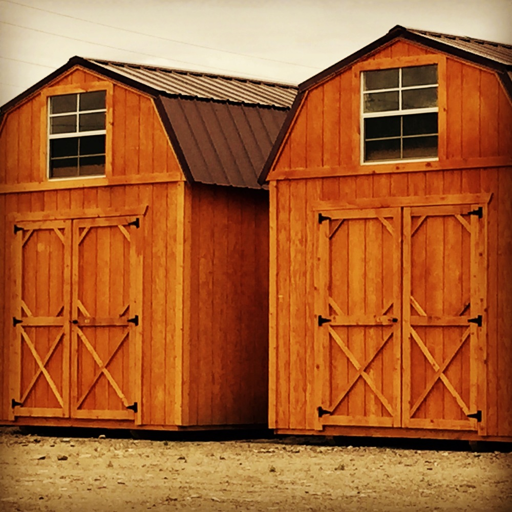 Other options may be added to the Lofted Barn, such as an opening loft door, larger doors, garage doors, extra height walls, windows, Silver Tech upgrade, and more!