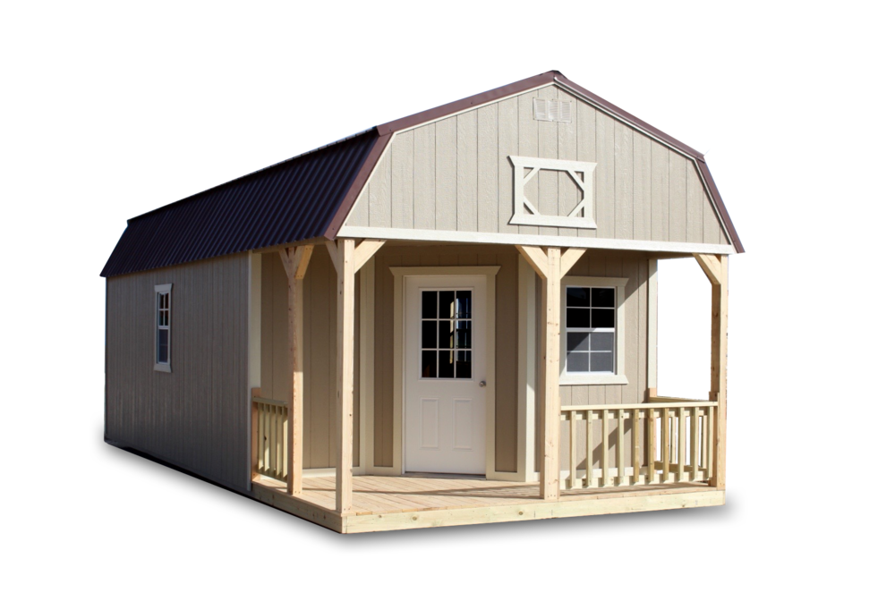 Deluxe Lofted Barn Cabin Cumberland Buildings Amp Sheds