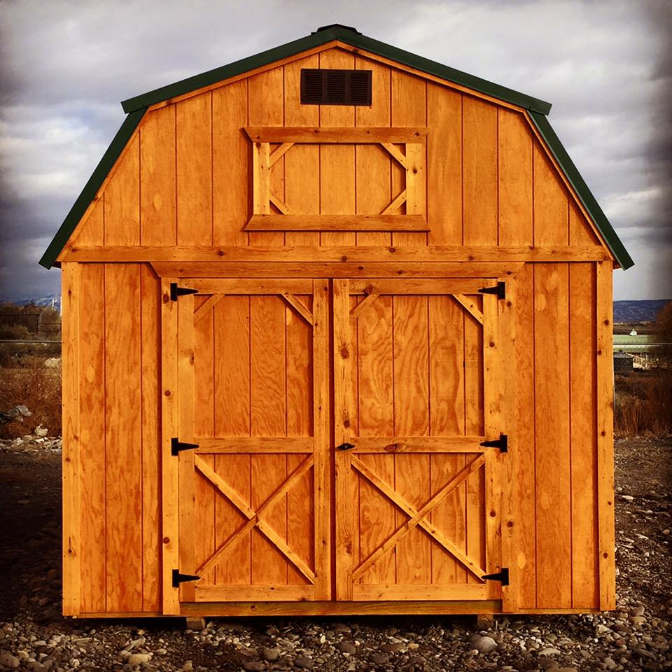 Cumberland Buildings offers storage sheds, cabins, portable garages, and lofted barns in Utah, Colorado, Nevada, Wyoming, Nebraska, and Arizona.