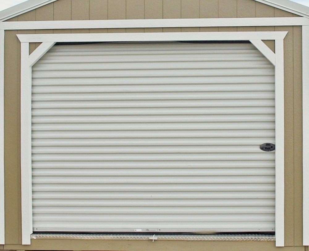 9 Ft Roll-Up Garage Door