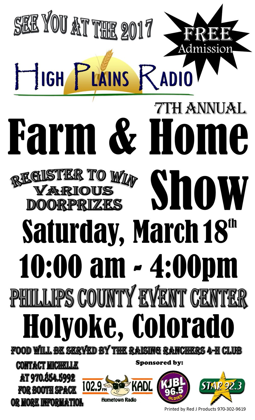 Farm and Home Show in Holyoke Colorado