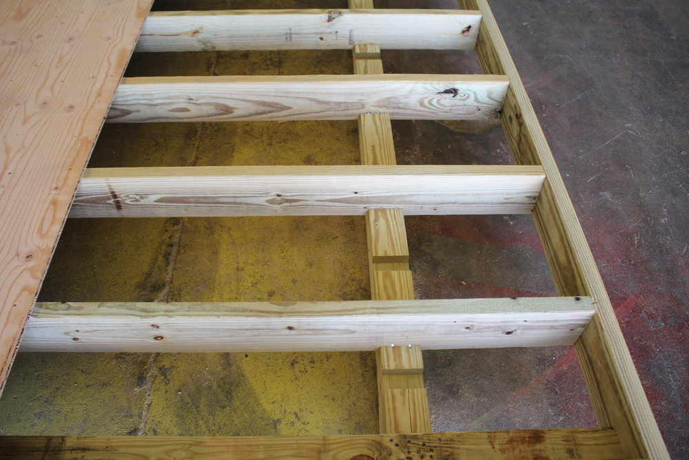 2x6 Pressure Treated Floor Joists