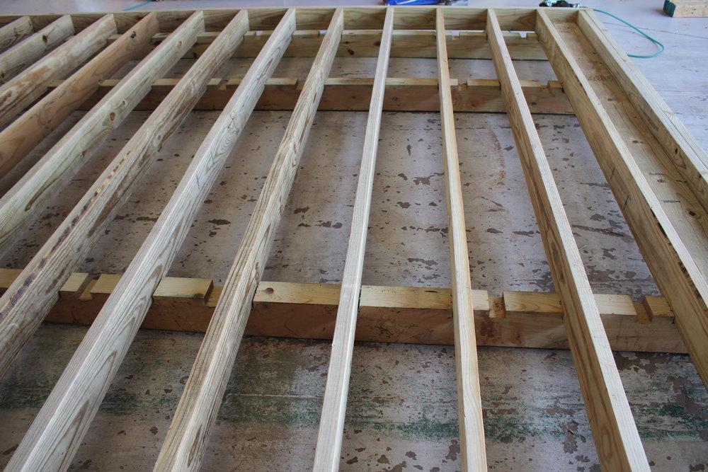 4x6 Pressure Treated Skids