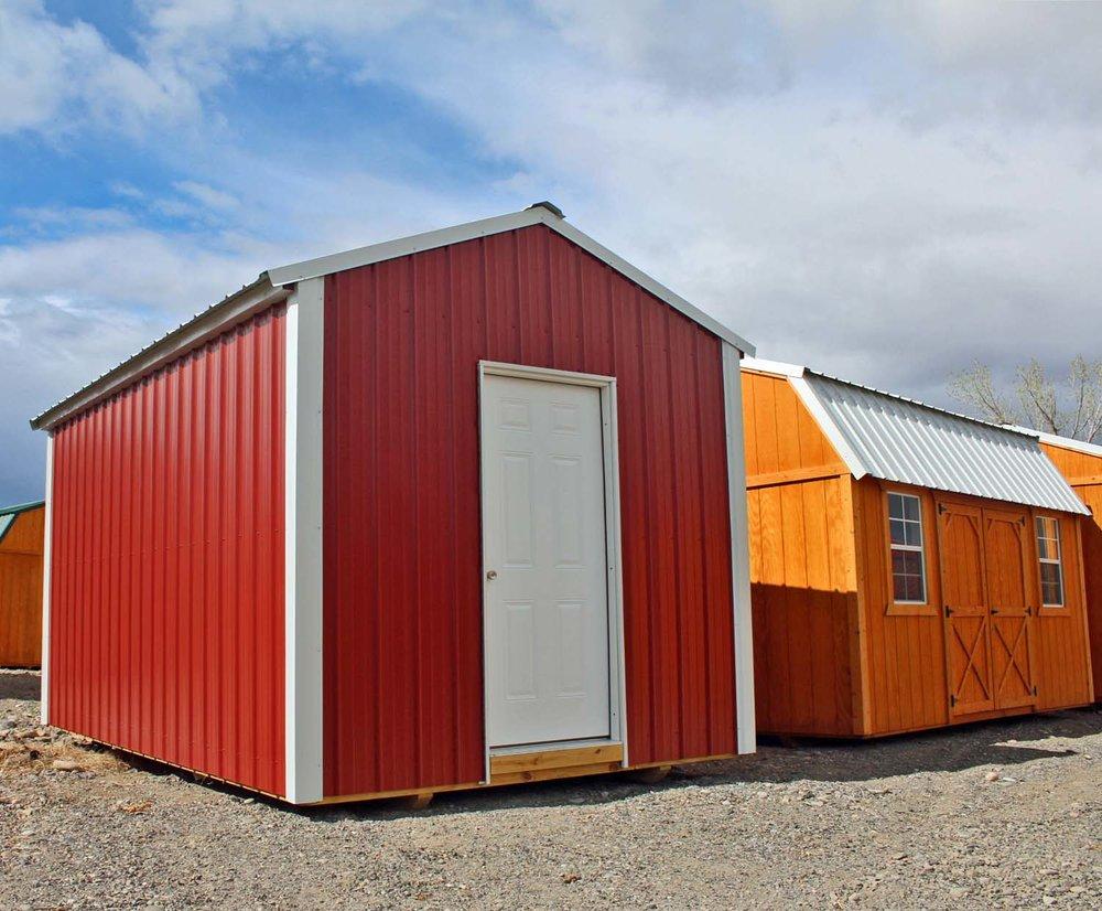 Metal Storage Building for your Utah or Colorado home.