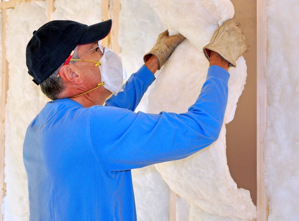Install insulation in your storage shed