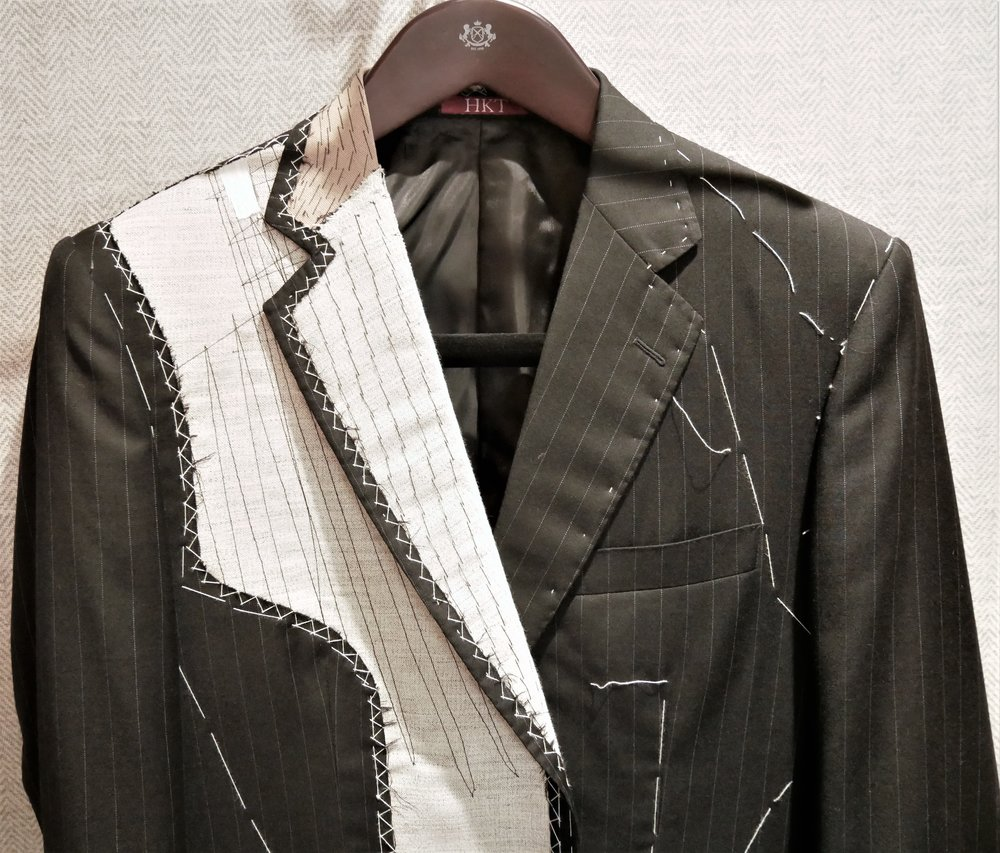 Meet the inside of a tailored suit
