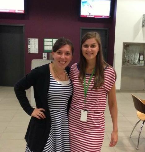 Twinsies - on the 4th of July. BAHAHAHAHAHA!