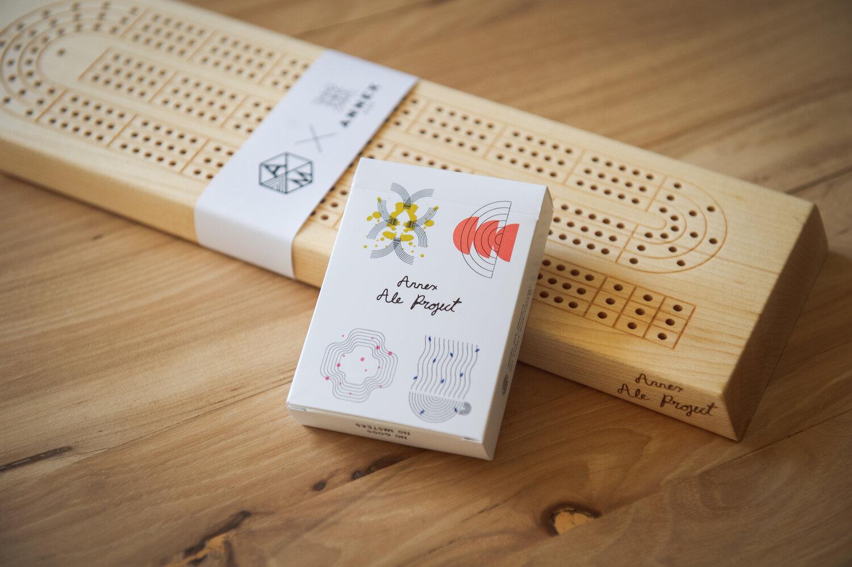 Adrianmartinus  Cribbage Board  Annex Ale Project