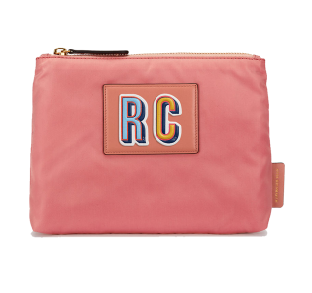 - Anya Hindmarch Zip Top Pouch, SGD$259