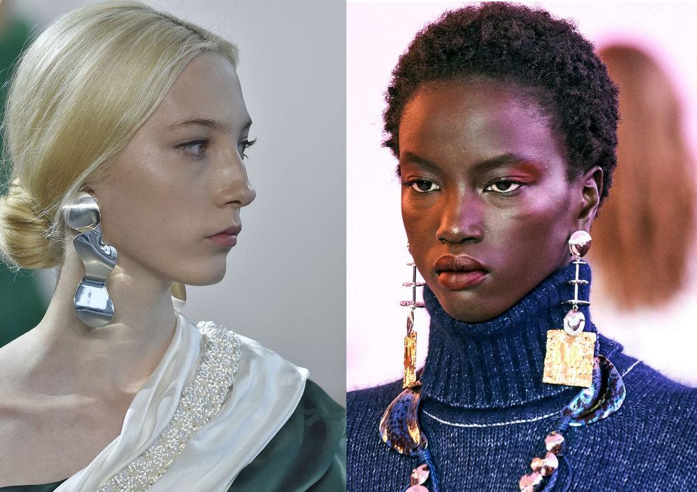 Credits: Hellessy & Chloé via Vogue Runway