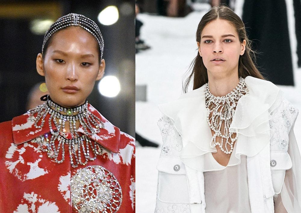 Credits: Area & Chanel via Vogue Runway