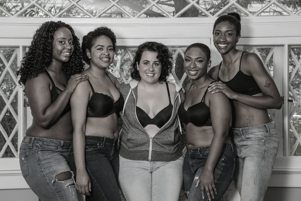 The Fitting Curve, Body Positive, Lingerie, Black Bra