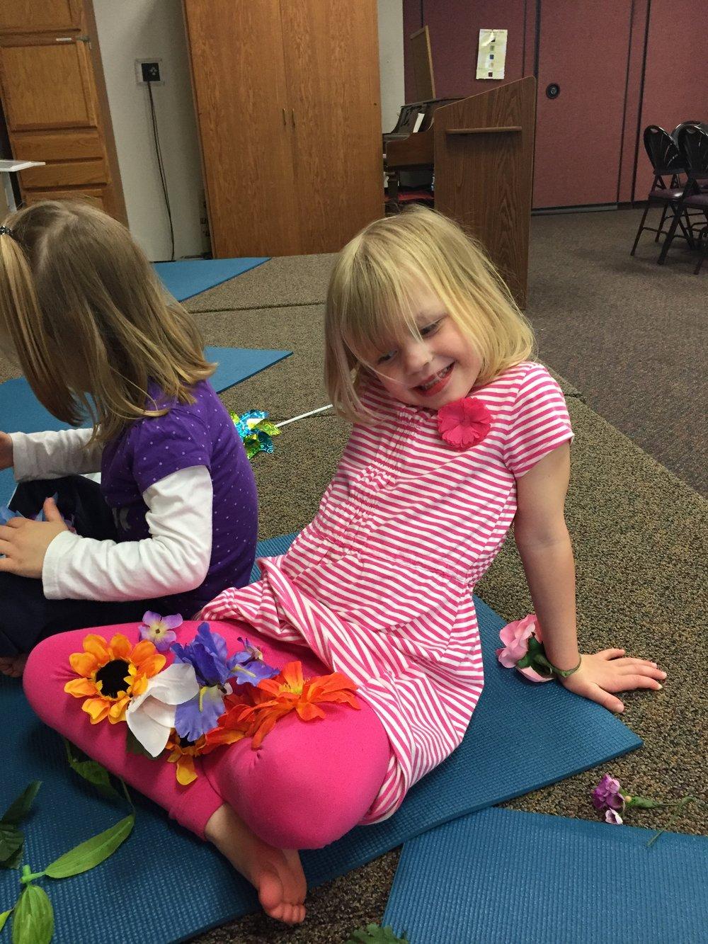 Kids' Preschool Yoga Class
