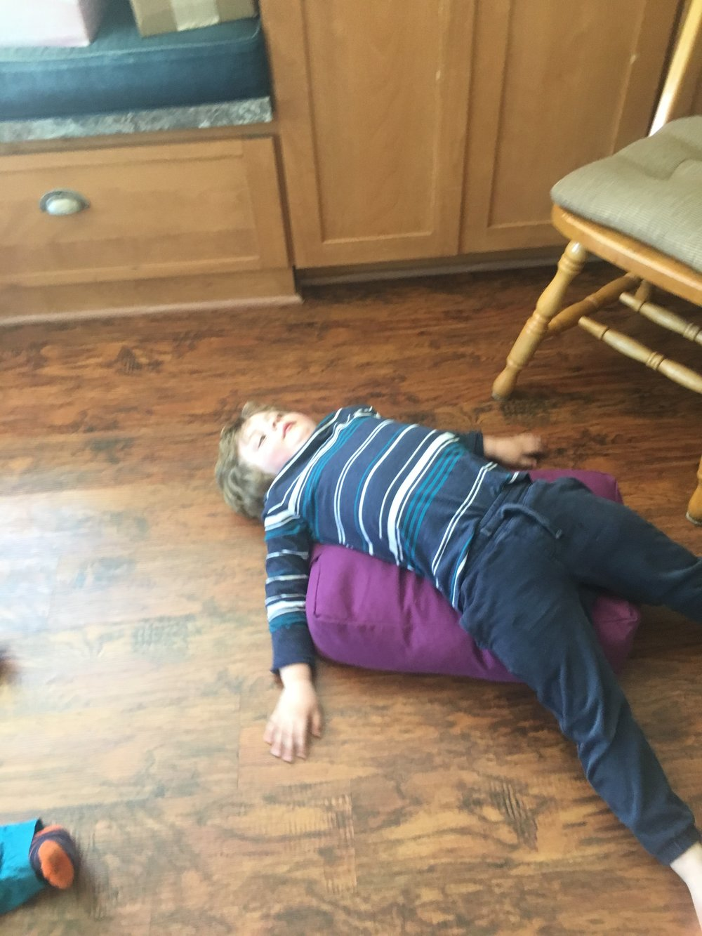 Kids' Preschool Yoga Class, Heart Opener
