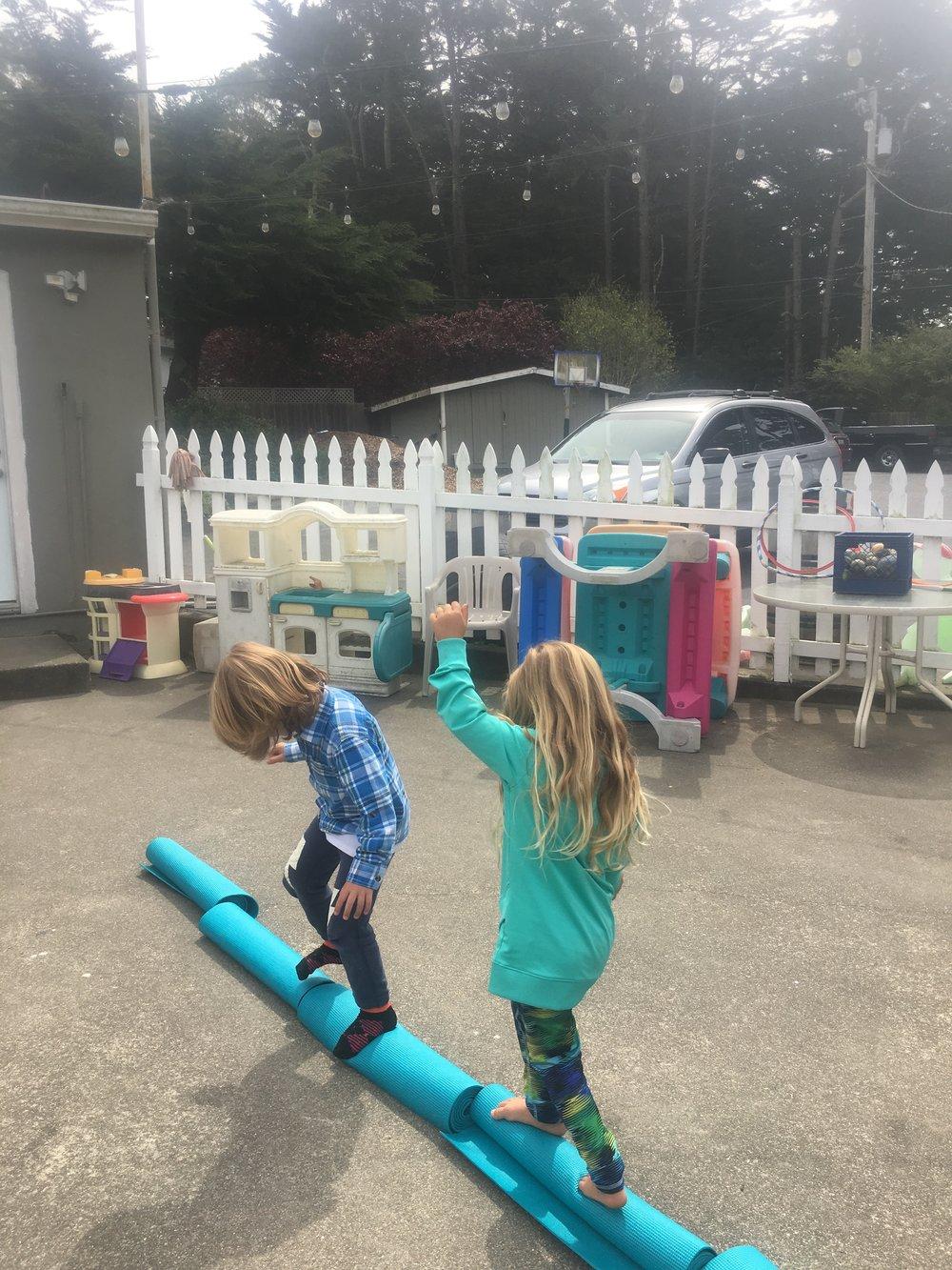 Kids Yoga Mat Fun