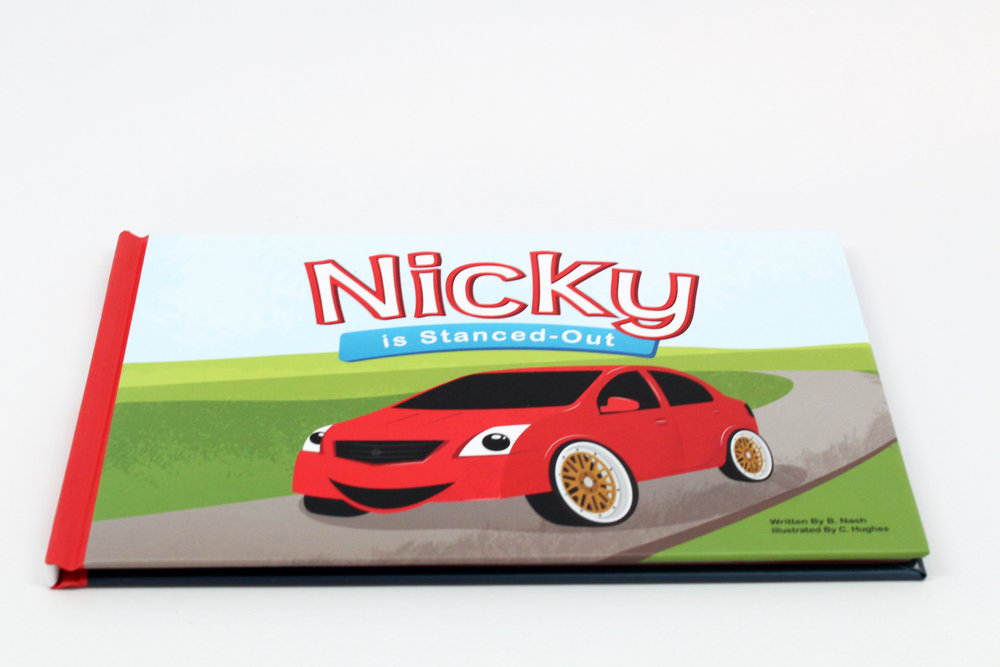 Nicky Hardcover Book view 1