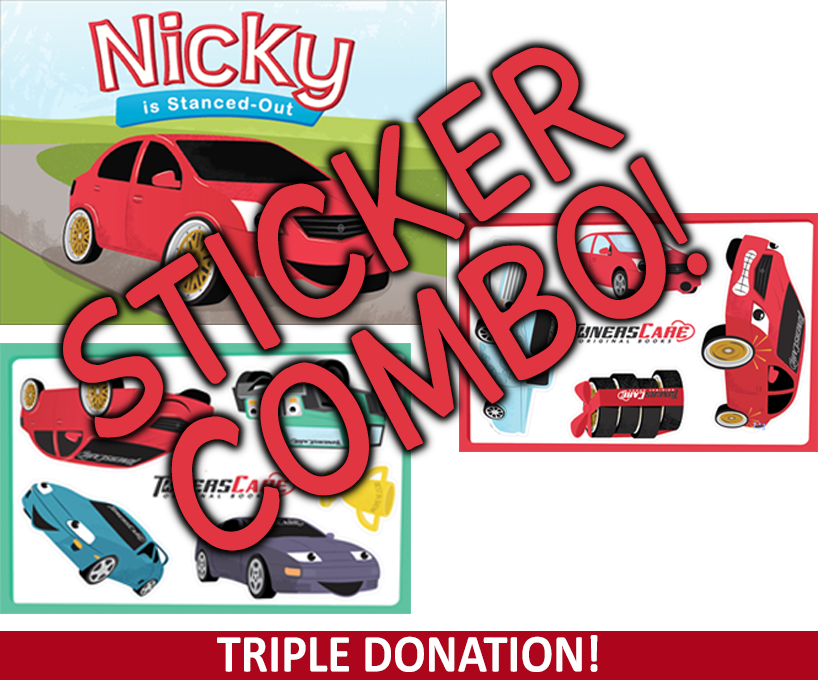 Nicky Hardcover + Stickers