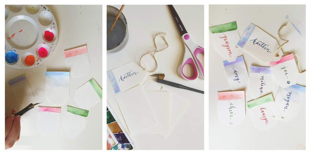 DIY Holiday Gift Tags | Pirouette Papers