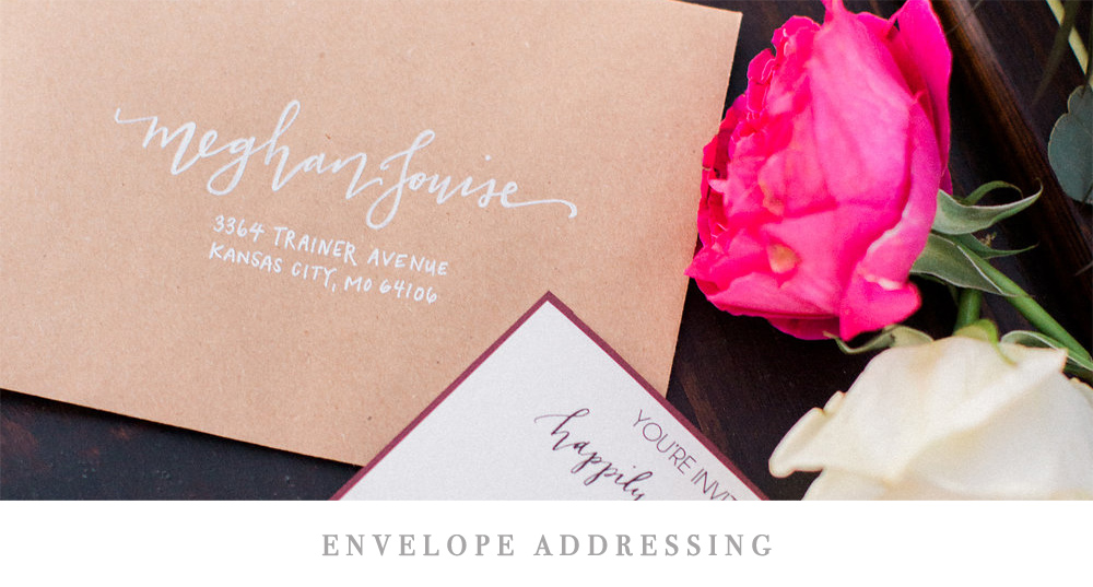 Envelope Addressing | Pirouette Paper Company