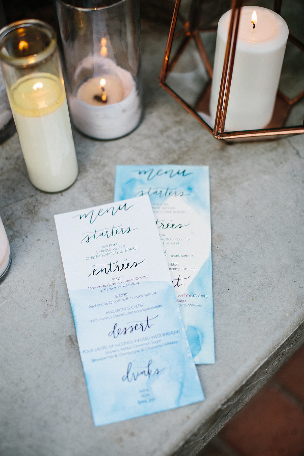 pirouettepaper.com | Kelly McDaniel Photography | Summer Winery Watercolor Wedding | Pirouette Paper Company | Love Quote | Wedding Calligraphy and Quotes, Menus and Place Cards